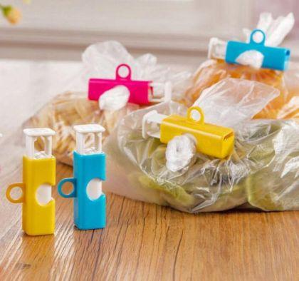 Набор зажимов для пакета, 3 шт, 6 х 2 х 3 см