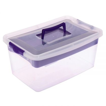 Аптечка, 9 л, фиолетовый,  36 х 25 х 17 см