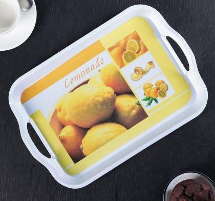 """Поднос прямоугольный """"Lemonade"""", 32,5 х 22,5 х 4 см"""