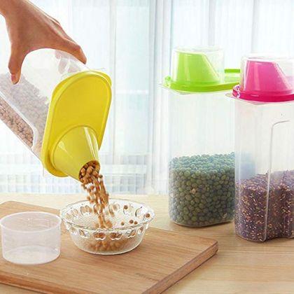 Контейнер для сыпучих продуктов на 2,5 литра, 17 х 10 х 26 см