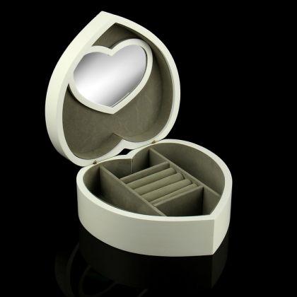 """Шкатулка для украшений """"My Love"""", белый, 21 х 21 х 8,8 см."""