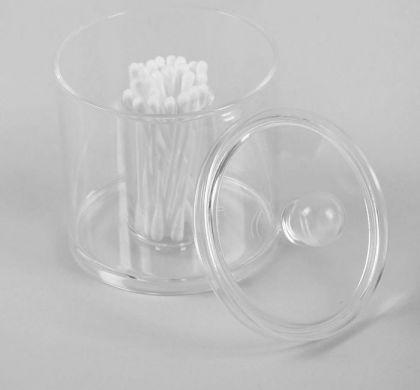 Органайзер для хранения ватных палочек, 13 х 9,3 х 9,3 см