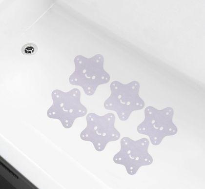 Наклейки для ванны против скольжения «Star», 10 х 0,1 х 10 см