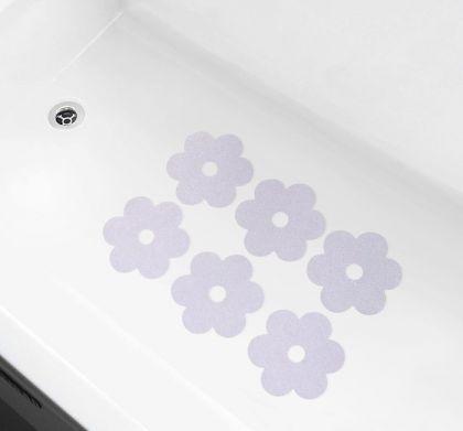 Наклейки для ванны против скольжения «Flower», 10 х 0,1 х 10 см
