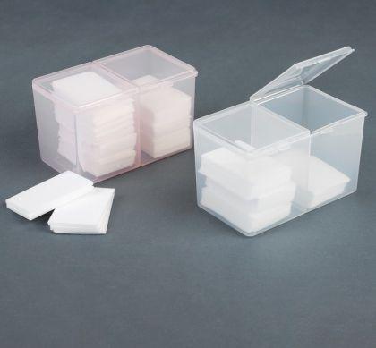 Органайзер для маникюрных принадлежностей, 2 отделения, 12,5 х 7,5 х 7,5 см