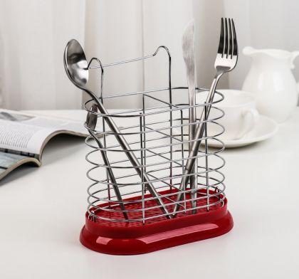 Подвесная сушилка для столовых приборов, 15,6 х 11 х 19 см
