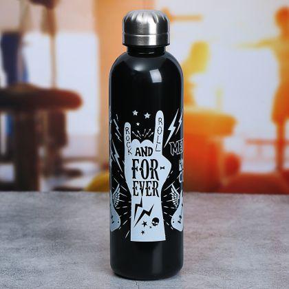 """Бутылка для воды """"For Ever"""" на 600 мл, 24 х 6,5 х 6,5 см"""