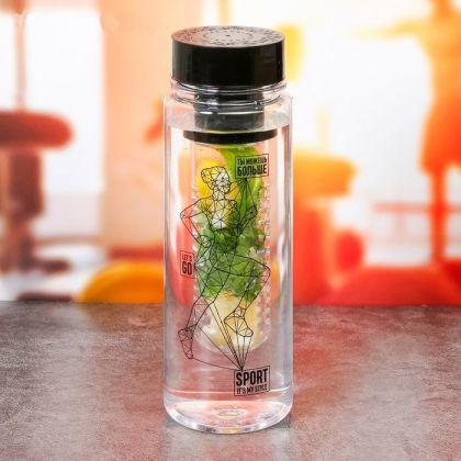 """Бутылка для воды """"Мотивация"""", 500 мл"""