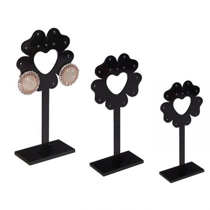 """Подставка для украшений """"Цветок"""", черный"""