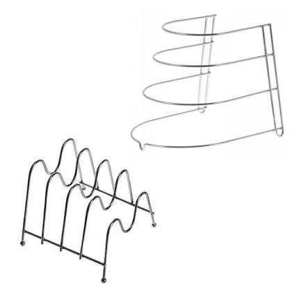 Комплект подставок для сковородок и крышек