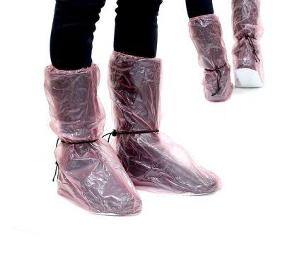 Дождевики для обуви, розовый, длина стопы 26 см, 30 х 22 х 34 см (39-41)