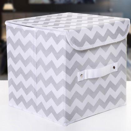 """Коробка для хранения вещей с крышкой """"Узор"""", 25 х 25 х 25 см"""