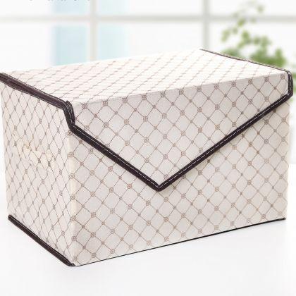 """Коробка для вещей с крышкой """"Колесо фортуны"""", 39 х 25 х 16 см"""