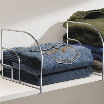 Разделитель для одежды на полку, 25 х 7,5 x 26 см