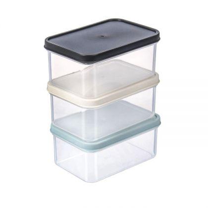 Набор контейнеров для микроволновой печи, 320 мл, 3 шт