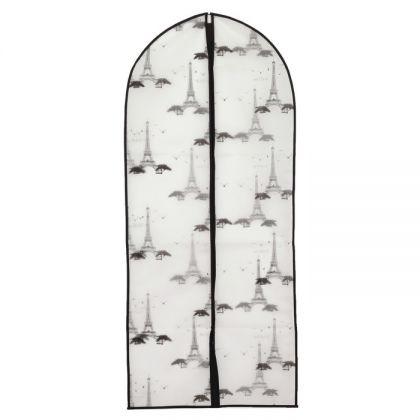 "Чехол для одежды ""Париж"", 60 х 137 см"