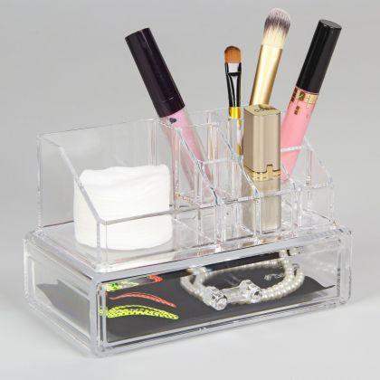 Органайзер для косметики на 10 секций, 18,5 х 10 х 11,5 см