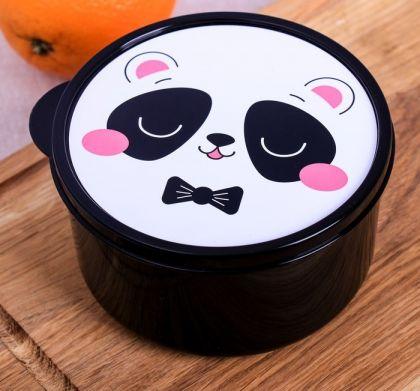 """Контейнер пищевой круглый для супа """"Panda"""", 500 мл"""