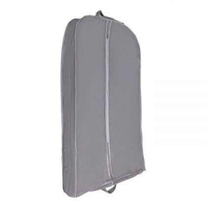 Чехол для одежды, серый, 120 х 60 х 10 см