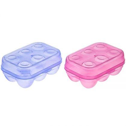 Контейнер для хранения яиц, 6 ячеек, 15 х 10 х 7 см
