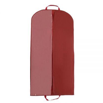 Чехол для одежды, бордо, 140 х 60 см