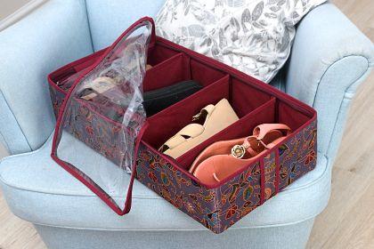 """Органайзер для обуви на 4 бокса """"Madeira"""", 51 х 25 х 12 см"""