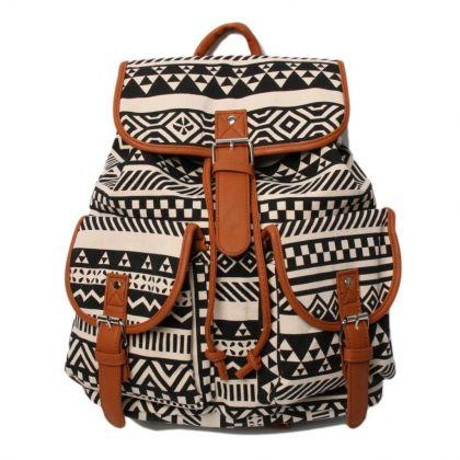 """Рюкзак """"Brown Zigzag"""", 29 х 14 х 42 см"""