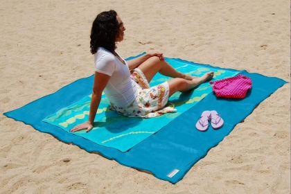 """Пляжное покрывало """"Clapsand Антипесок"""", 200 х 150 см"""