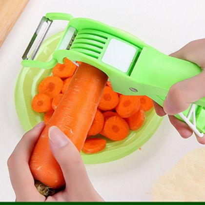 Ручная овощерезка, зеленая