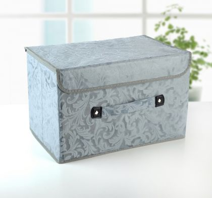 "Коробка для хранения с крышкой ""Легкость"", 38 х 25 х 25 см"