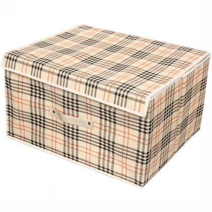 "Коробка для хранения вещей ""Клетка"", 38 х 28 х 38 см"