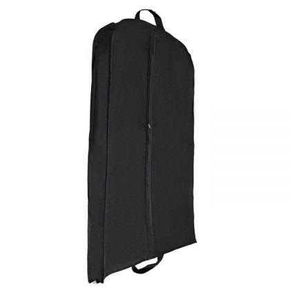 Чехол для одежды зимний, черный, 140 x 60 x 10 см