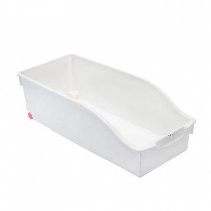 Органайзер для кухни, на колесиках, белый, 35,5 х 16 х 10,5 см