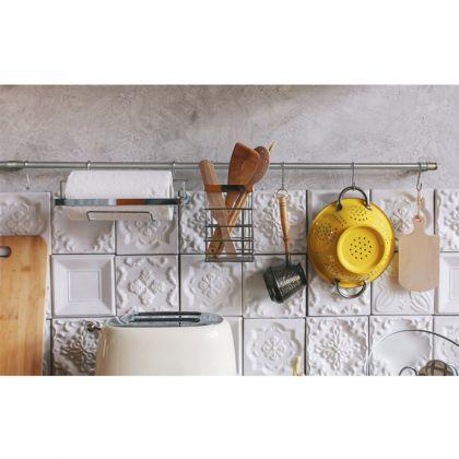 Рейлинговая система для кухни, 10 предметов