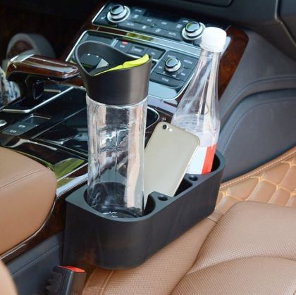 Органайзер для мелочей в салон авто, черный, 27,5 х 10 х 20,5 см
