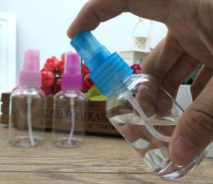 Бутылочка для хранения с дозатором 50 мл, разные цвета