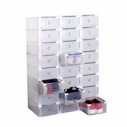 Сборный модуль для хранения обуви из 24  шт, модель 1, 31 х 19,5 х 10,5 см