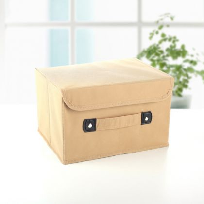 Коробка для хранения «Praline», бежевый, 27 x 20 x 16 см