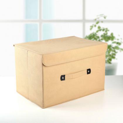 Коробка для хранения «Praline», бежевый, 38 x 25 x 25 см