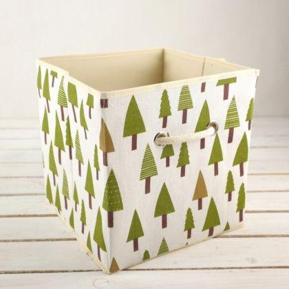 Коробка для хранения «Елочка», 27 x 27 x 27 см