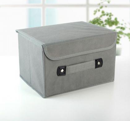 Коробка для хранения «Cloud», серый, 27 x 20 x 16 см