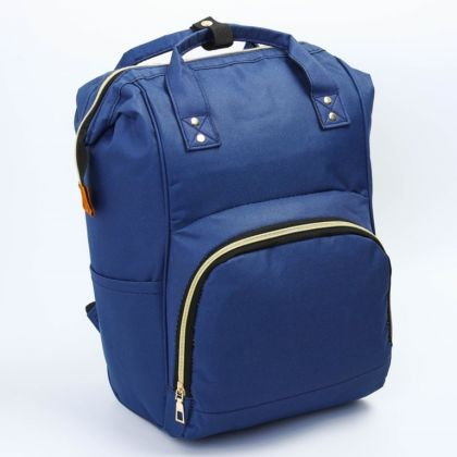 Сумка-рюкзак для мамы, синий, 30 x 12 x 43 см