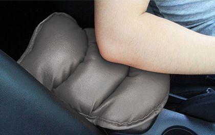 Подушка на подлокотник, серый, 25 x 20 x 4 см