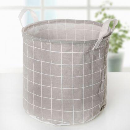 Корзина универсальная «Lin», серый, 30 x 30 x 30 см