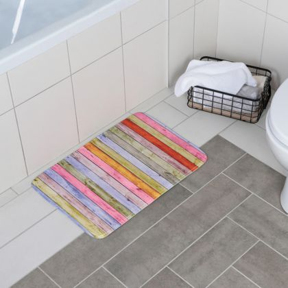"""Коврик для ванной """"Разноцветное дерево"""", 60 х 40 см"""
