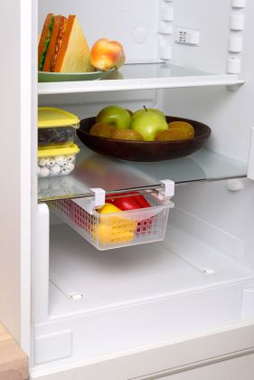 Выдвижная корзина для холодильника, 41 х 17,5 х 12 см