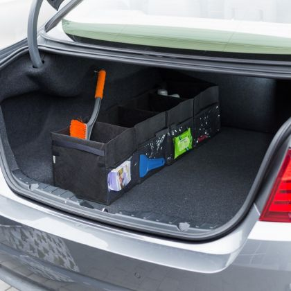 Автоорганайзер в багажник на 4 отделения, 92 х 23 х 25 см