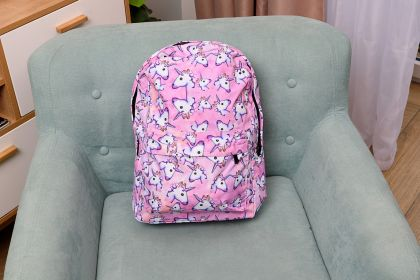 """Рюкзак """"Розовый единорог"""", 29 х 14 х 42 см"""