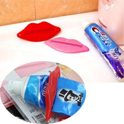 """Зажим для зубной пасты """"Lips"""", 14 x 0,5 х 10 см"""