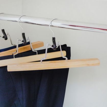 Вешалка для юбок и брюк, 25 x 2 x 16,5 см